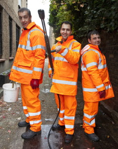 Fly tips, graffiti, who you gonna call? Grimebusters 020 8825 8825