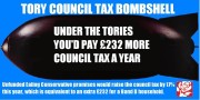 Ealing Conservatives would have put Council Tax up by 17%