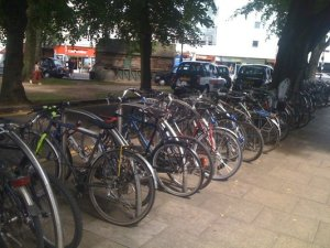 Current Bike Stands at Haven Green, Ealing Broadway