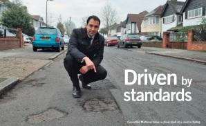 Road resurfacing