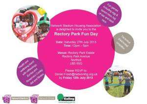 RectoryParkFunDay 27 July 2013