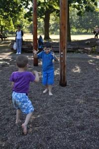 Fun at Walpole's water play